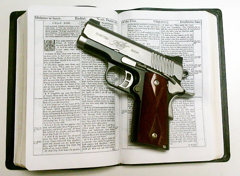 Image result for the bible and guns