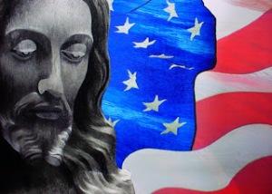 JesusAmericanFlag
