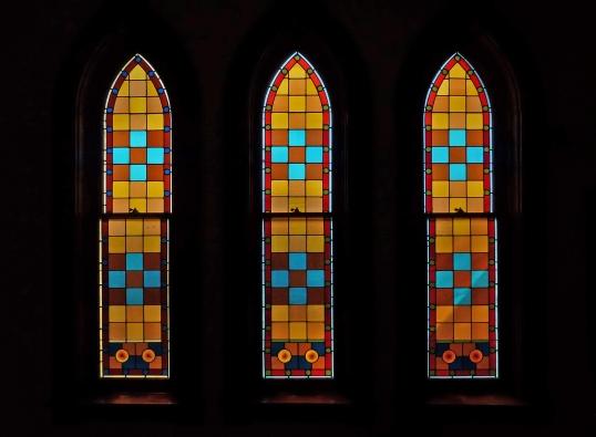Monroe_Methodist_Church_windows