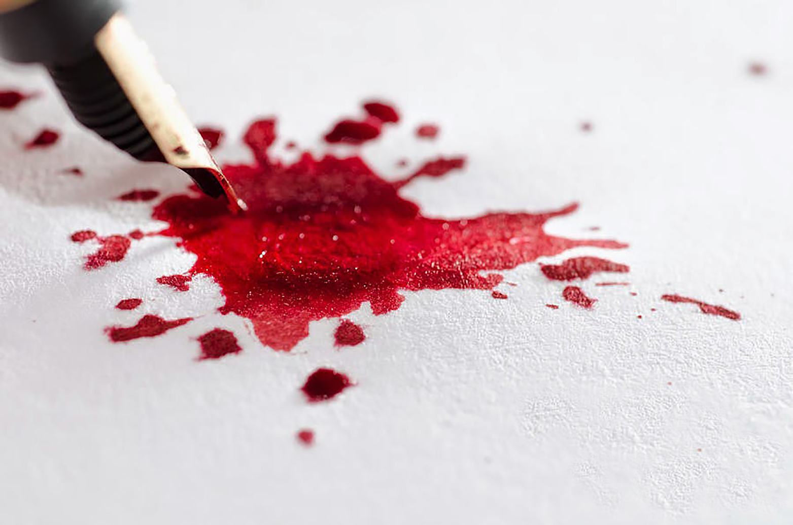 write a letter with blood